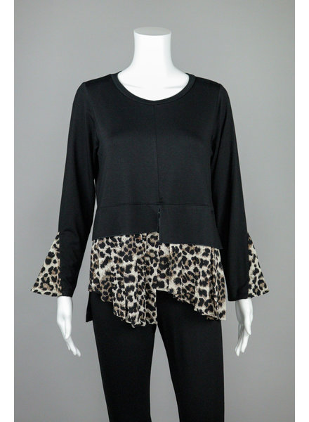 Comfy USA Animal Print Michelle Tunic