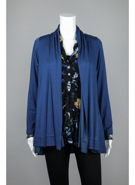 Comfy USA Blue Allure Annie Cardigan