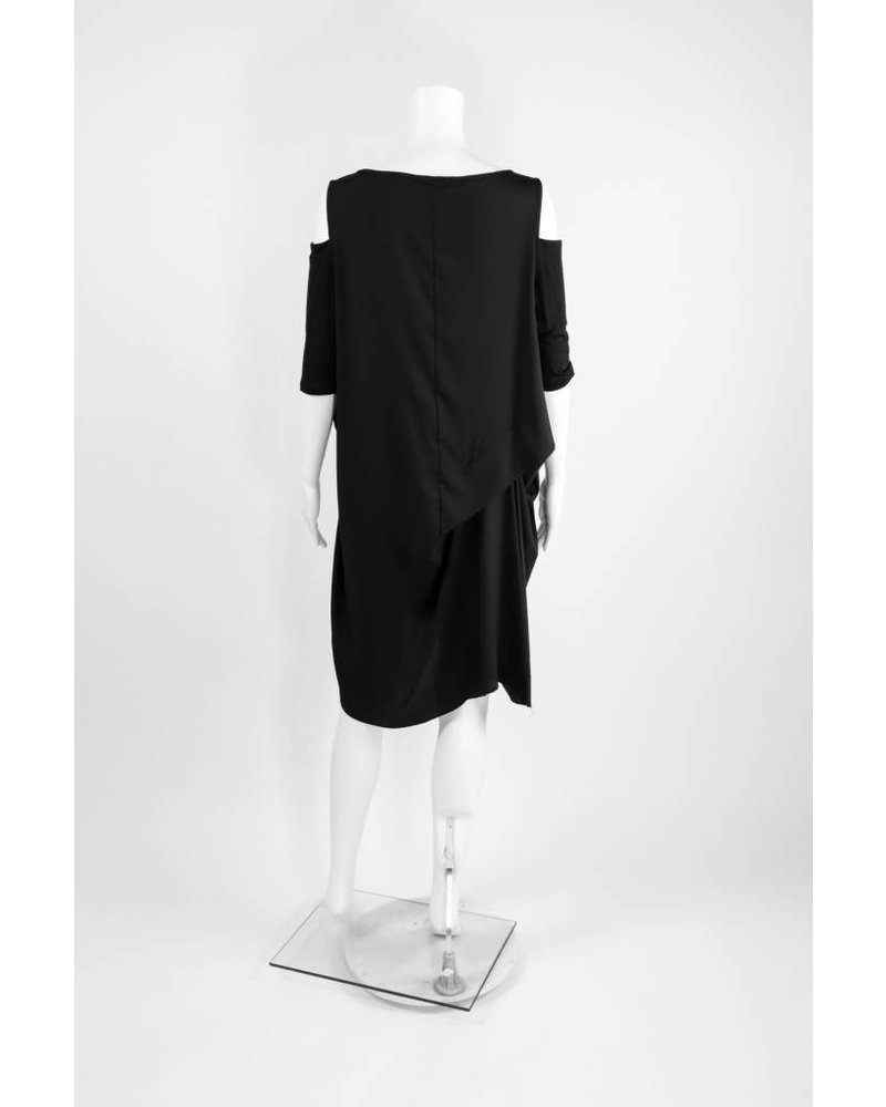 Comfy USA Cold Shoulder Dress