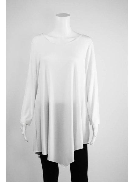 Comfy USA Long Sleeve Asymmetrical Tunic
