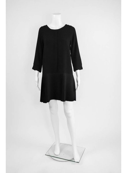 Comfy USA Jason Crepe Pleated Tunic