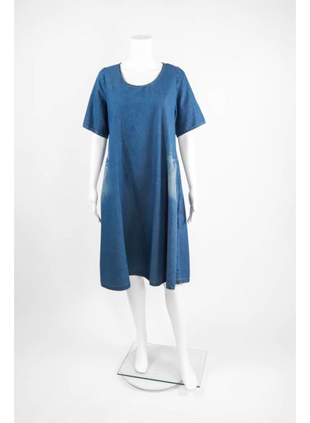 Alembika Short Sleeve Pocket Dress