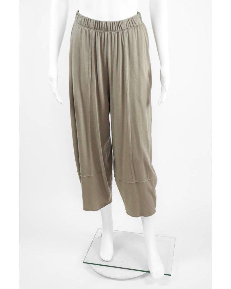 Comfy USA Knit Crop Full Leg Pant