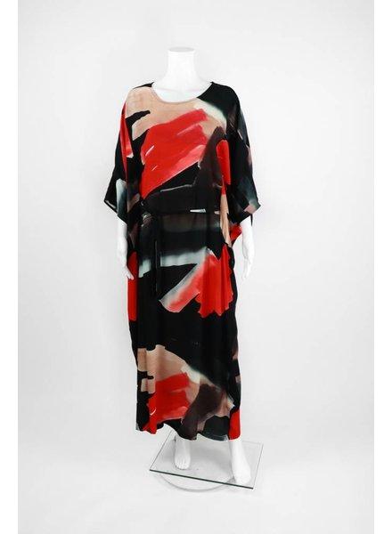 Q'Neel Tri-Color Kimono