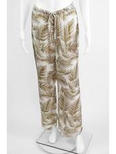 Lauren Vidal Palm Print Pant