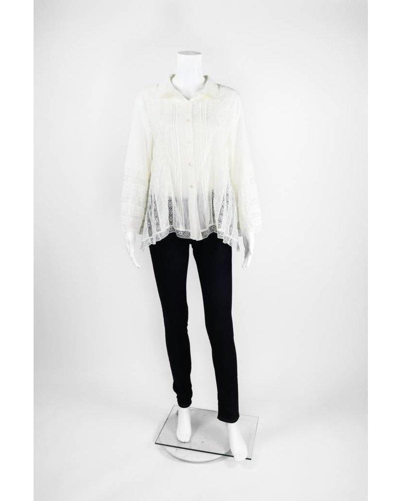 Lauren Vidal Cotton Blouse