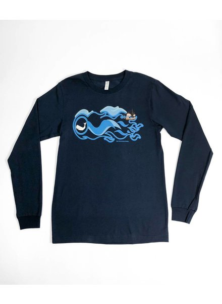 Well Read Long Sleeve Moby Dick T-Shirt