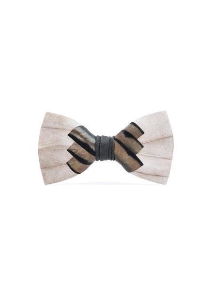 Brackish Pawley Feather Bow Tie