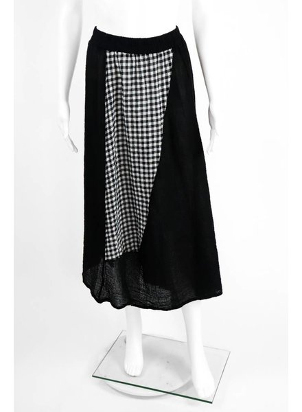 Luukaa Two Tone Checked Skirt