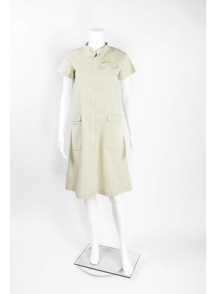 Bitte Kai Rand Zip Front Bow Pocket Short Sleeve Dress