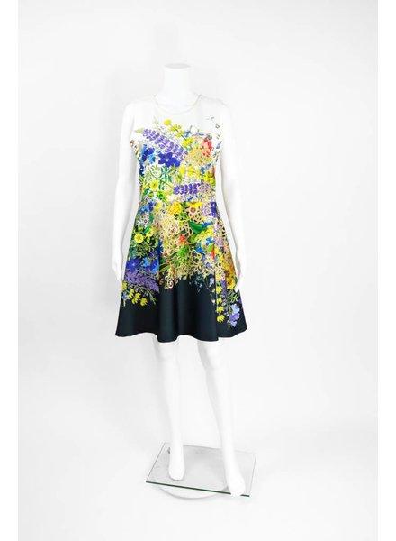 Isle Apparel Sunflower Print Dress
