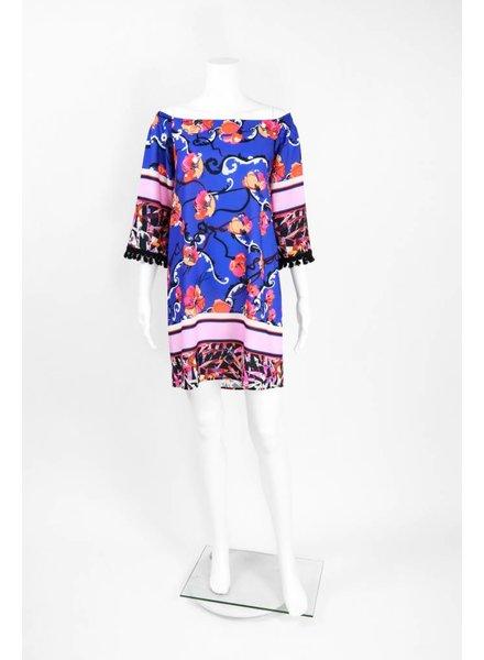 Isle Apparel Marlin Print Dress