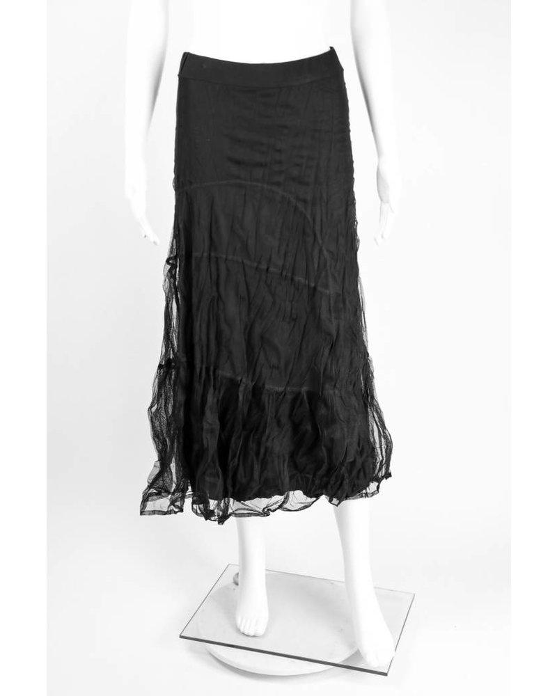 Alembika Crinkle Mesh Mioi Skirt