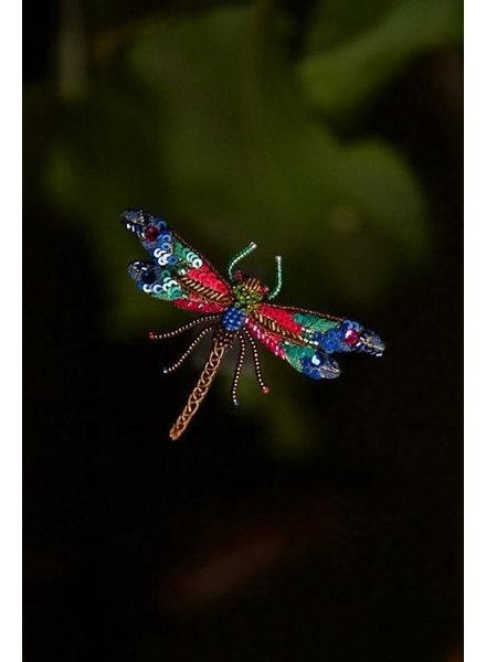 Trovelore Braid Dragonfly Brooch