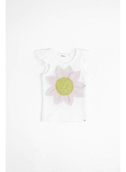 Oh Baby! Ruffle Sleeve Daisy T-Shirt