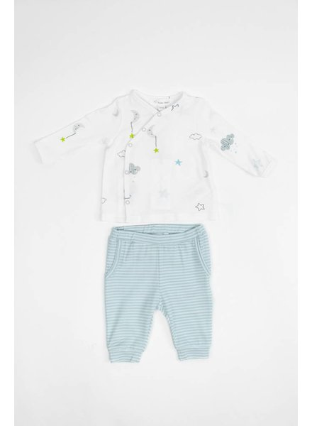 Angel Dear Cloud & Star Print Shirt / Short Set