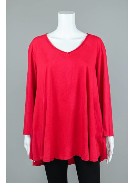 M Square V Neck Knit Shirt