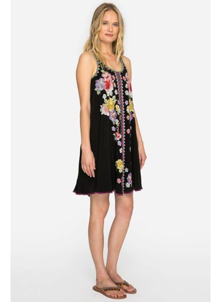 Johnny Was Peta Embroidery Slip Dress