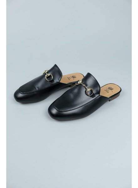 GC Shoes Gold Trim Slides