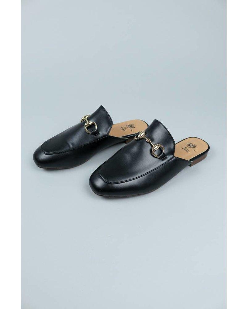 GC Shoes Gold Trim Slides