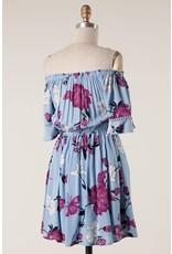 OTS Floral Print Dress