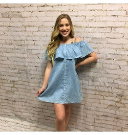 OTS Button Down Dress