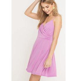 Sleevless Mini Swing Dress