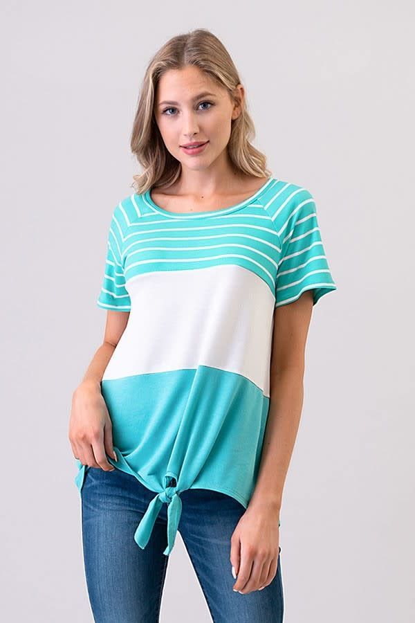 Stripe/Color Block Top