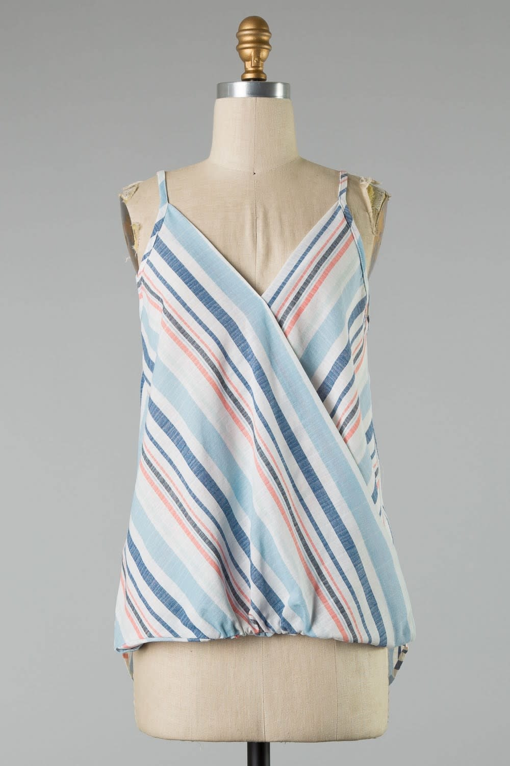 Stripe Wrap Tank