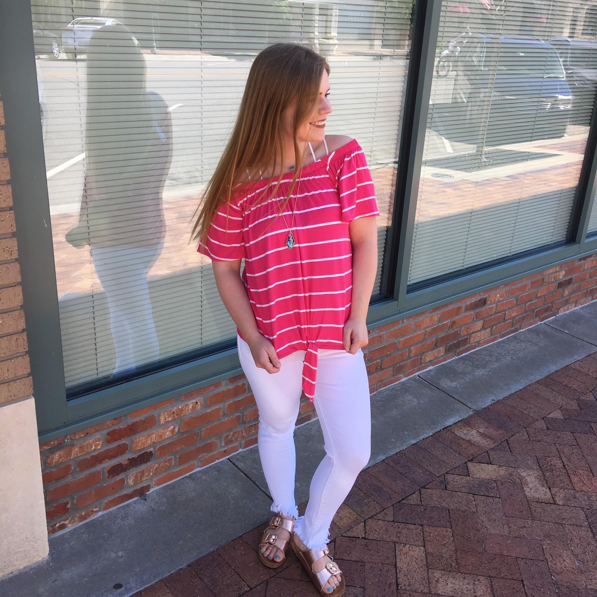 OTS Stripe Top