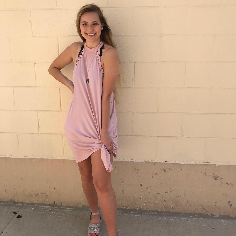 Halter Mess Dress