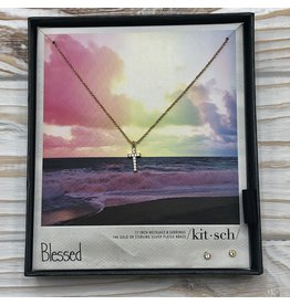 Blessed Necklace &  Earring Set