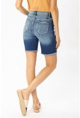Brooke Button Fly Denim Shorts
