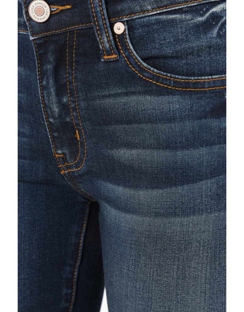 Kancan The Every Day Mid Rise Skinny - Dark Wash