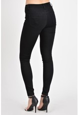 Kancan Back in Black Petite Skinny