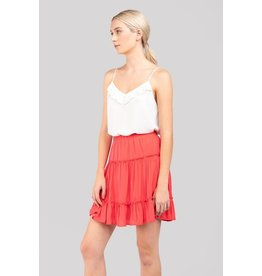 Fiona Fit & Flare Mini Skirt