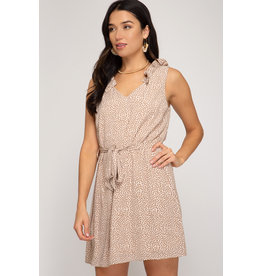 Roe Ruffle Sleeve Dress