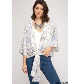 Melody Front Tie Kimono