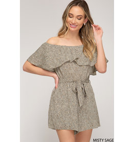 Phoebe Off The Shoulder Romper