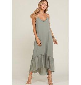Elizabeth Ruffle Maxi Dress