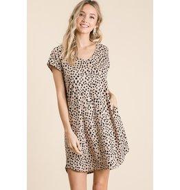 Quicksand Leopard Print Dress