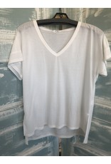 Don't Cling to Me V-Neck Tee