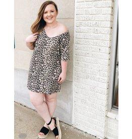 Meow T-Shirt Dress