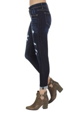 The Lucy Low Rise Distressed Skinny