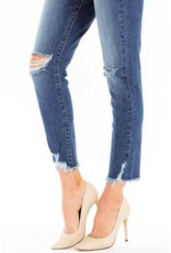 The Bonnie High Rise Button Fly Skinny