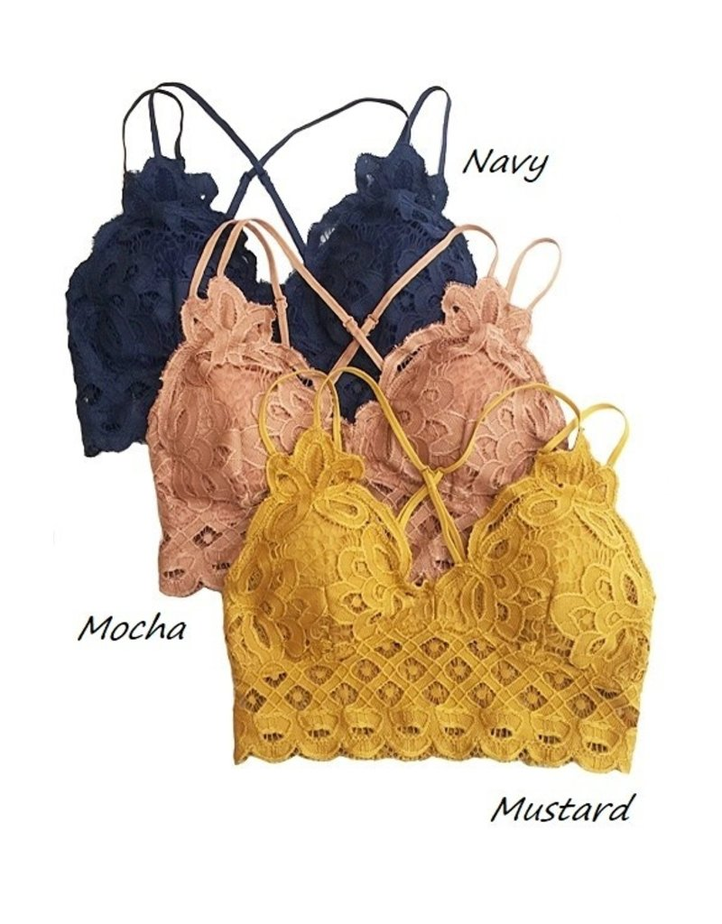 The Must Have Crochet Lace Bralette