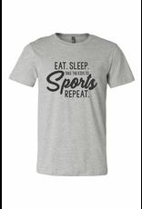 Eat. Sleep. Take the Kids to Sports. Repeat Graphic Tee