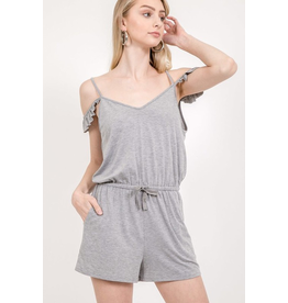 Delilah Cold Shoulder Romper