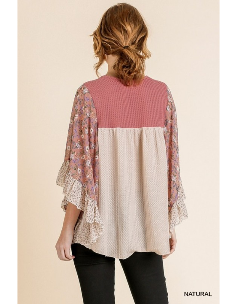 Southern Bell Henley Top