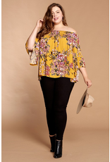 Curvy Collection - Daize  Off The Shoulder Top